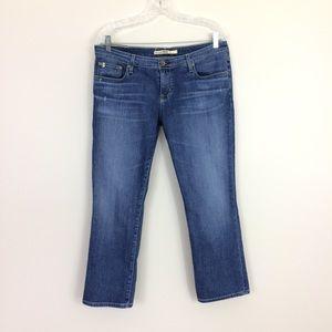 Big Star 32 Buckle Rikki Straight Leg Crop Jeans